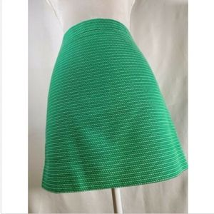 J Crew womens skirt size 4 pencil straight green